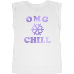 OMG, Just Chill Muscle Tank