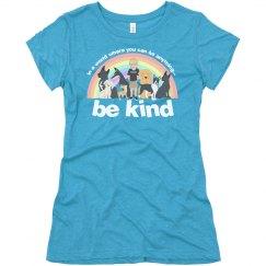 women bekind shirt