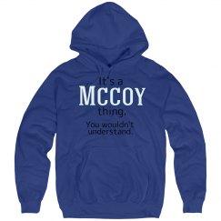 Its a McCoy thing