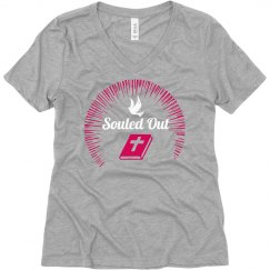 Souled Out Vneck Tee
