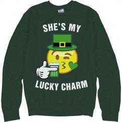 She's My Lucky Emoji