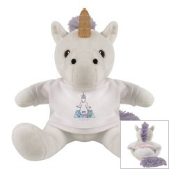 Yoga Unicorn plushie