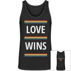 Love Wins Men's Tank