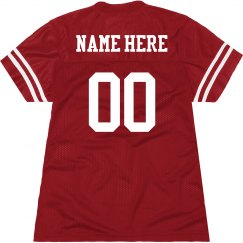 Customized Football Jersey for Women