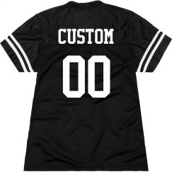 Custom Name/Number Back Print Fan
