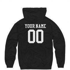 Custom Name Number Sports Hoodie