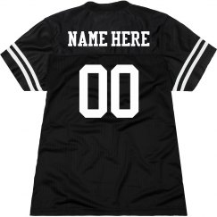 Personalized Name Number Jersey for Women