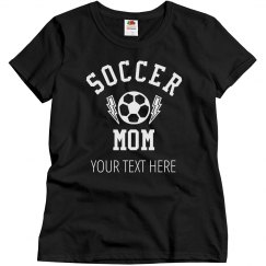Custom Soccer Mom Design