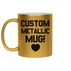 Create a Custom Metallic Mug