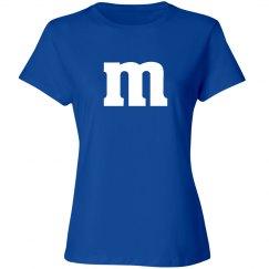 Halloween Blue Candy Shirt Costume