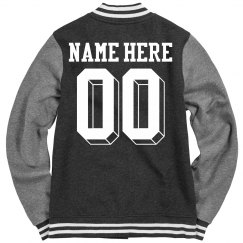 Design A Jacket With Your Name and Number on Back