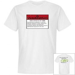 Johnny Dappa Trading Co. Premium Warning Label CBD