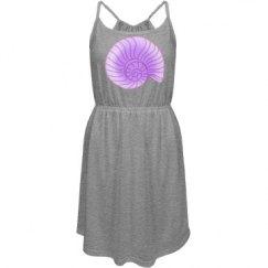 Lavender Snail Shell
