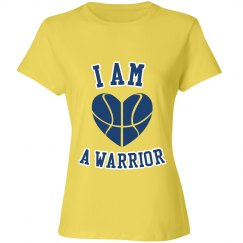I am a warrior shirt yellow