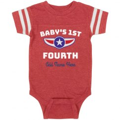 Baby's First Fourth Of July