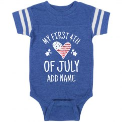My First 4th Of July Personalized