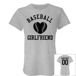 Trendy Custom Baseball Girlfriend Shirts