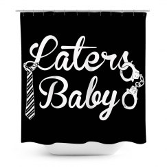 Laters Baby Shower Curtain