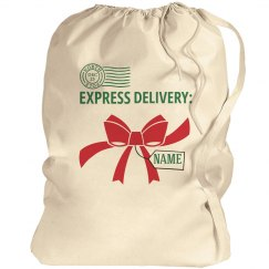 Express Deliver Custom Santa Sack