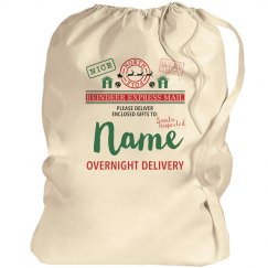 Custom Name Santa Gift Sack