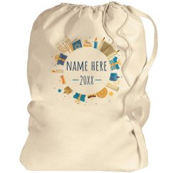 Add Your Name Hanukkah Gift Bag