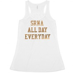 Women's Crop- SRNA ALL DAY