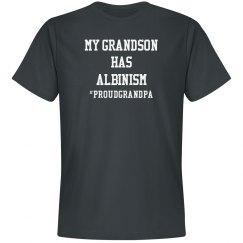 My Grandson Has Albinism- Proud GPa- Gray