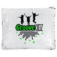 Groove Kidz Flip Sequin Pencil & Makeup Case