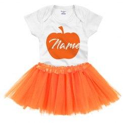 Halloween Pumpkin Add Name Outfit