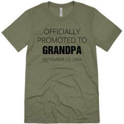 Promoted To Grandpa