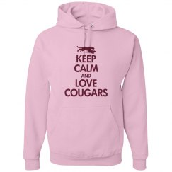 Keep calm love cougars
