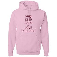 Keep calm love cougars