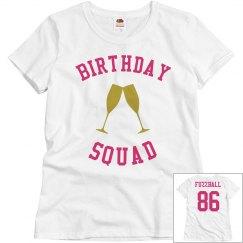 Birthday Squad (pink shirt)