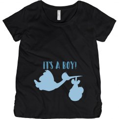 Its A Boy Maternity Tee