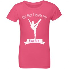 Personalize Your Own Cheer Tee