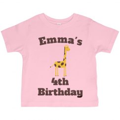 Emma's 4th birthday