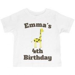 Emma's 4th birthday