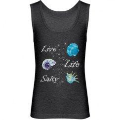 Live Life Salty Girl's Tank