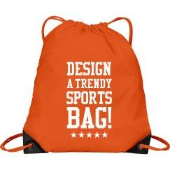 Custom Trendy Sports Clinch Bag