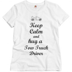 Hug a Tow Truck driver