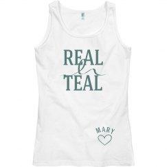 Real Teal Ovarian Cancer
