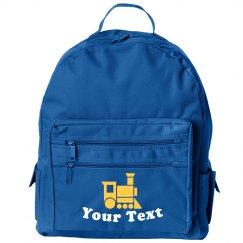 Custom Train Backpack