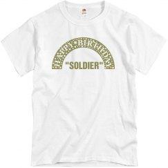 Soldier's birthday