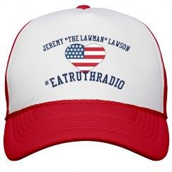 "Jeremy ""The Lawman"" Lawson USA Heart Trucker Cap"