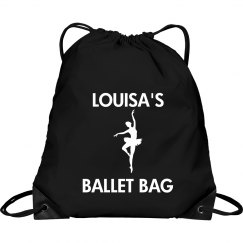 Louisa's ballet bag