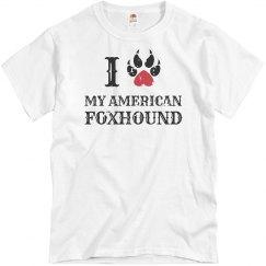 Love my a american Foxhound