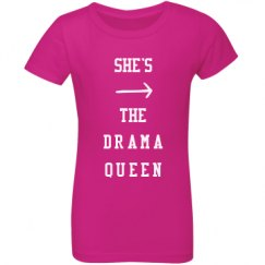 Youth Girls Princess Tee