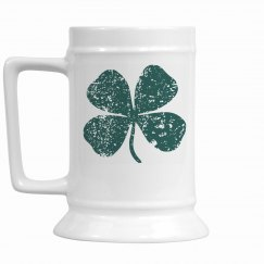 Four Leaf Clover (Teal)