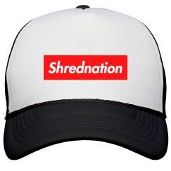 Shrednation Supreme Trucker Hat (Black)
