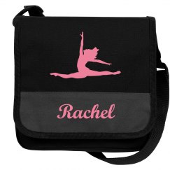 Dance Ballet Messenger Bag